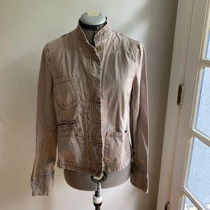 French Connection khaki military style jacket, 12